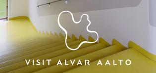 Alvar Aalto -banneri, kuva: Alvar Aalto -säätiö