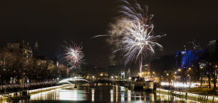 Suomi 100 -juhlavuoden ja uuden vuoden vastaanotto